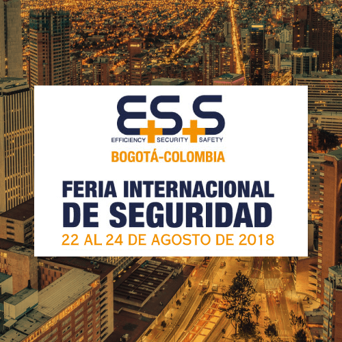 *GARNET TECHNOLOGY NUEVAMENTE PRESENTE EN ESS INTERNATIONAL SECURITY FAIR* | COLOMBIA 2018